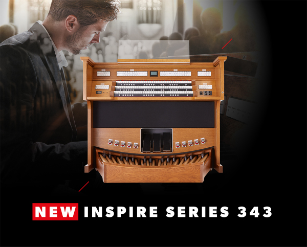 Rodgers Expands the Inspire Series with a New Three-Manual Model!